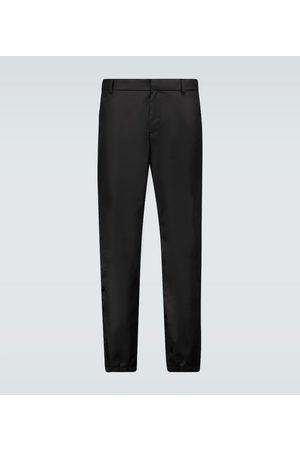 Prada Slim-fit nylon trackpants