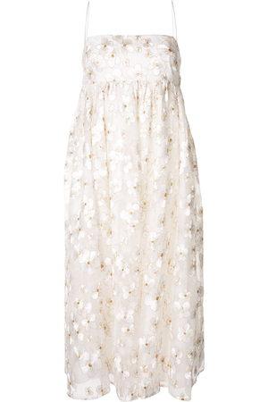 Macgraw Blubell organza silk dress