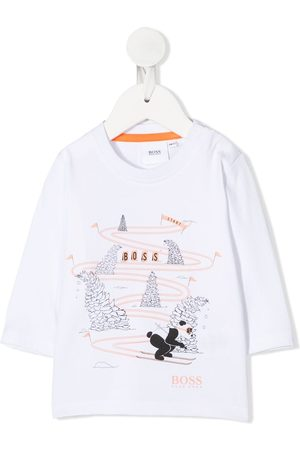 HUGO BOSS Ski print T-shirt
