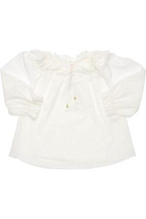 ZIMMERMANN Cotton Eyelet Lace Shirt