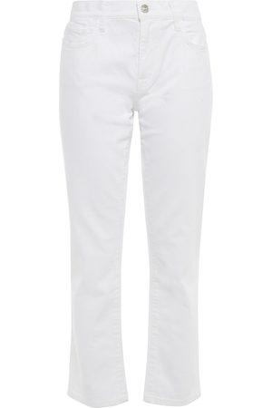 Current/Elliott Woman The Fling High-rise Straight-leg Jeans Size 25
