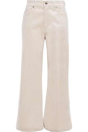 7 for all Mankind Woman Lotta Corduroy Wide-leg Pants Size 25