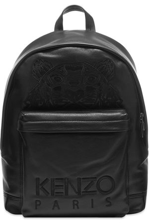 Kenzo Embroidered Leather Tiger Backpack