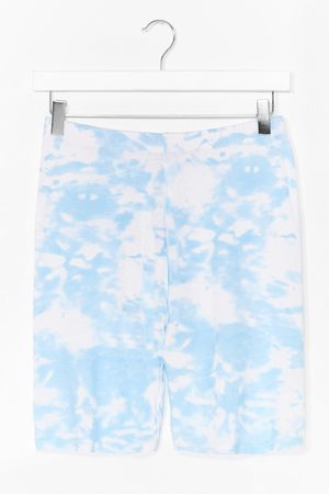 NASTY GAL Womens And What Do You See Tie Dye Shorts - - 6