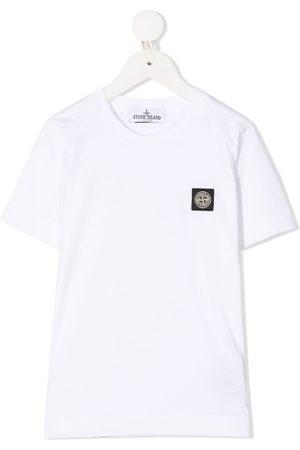 Stone Island Logo patch crew neck T-Shirt