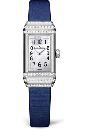 Jaeger-LeCoultre White Gold Reverso One Duetto Diamond Set Watch