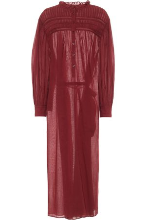 Isabel Marant Perkins cotton voile maxi dress