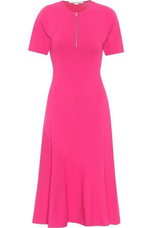 Stella McCartney Stretch-knit midi dress