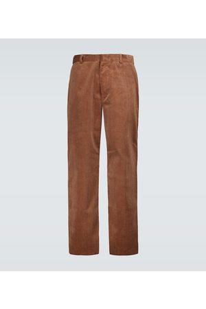 Alanui Wide-leg corduroy pants