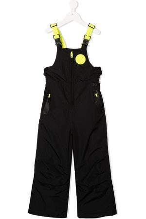 Diesel Two-tone straight-leg dungarees