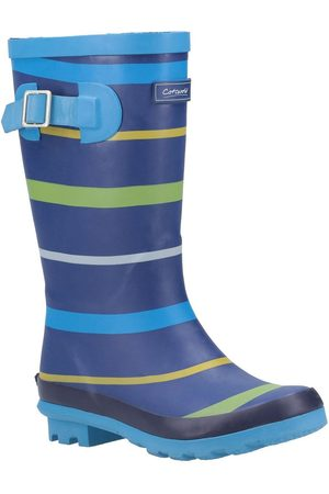 Cotswold Outdoor Boys Stripe Wellington Boots