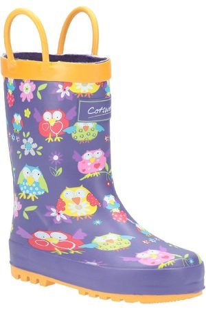 Cotswold Outdoor Girls Owl Wellington Boots