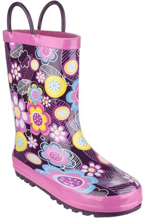 Cotswold Outdoor Girls Flower Wellington Boots