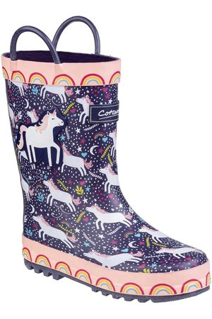 Cotswold Outdoor Girls Unicorn Wellington Boots