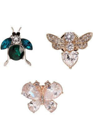 Jon Richard Bug Brooches Pack Of 3 - Gift Boxed