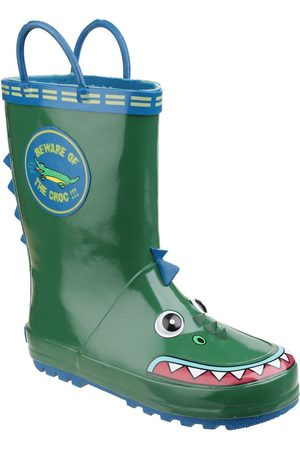 Cotswold Outdoor Boys Crocodile Wellington Boots