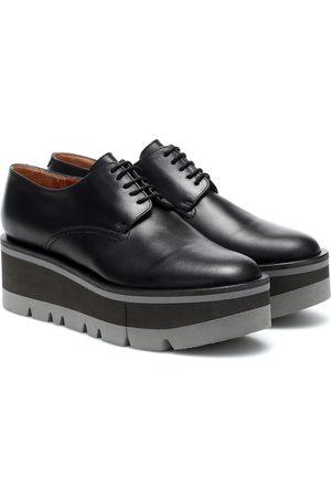 Robert Clergerie Bradie leather platform Derby shoes