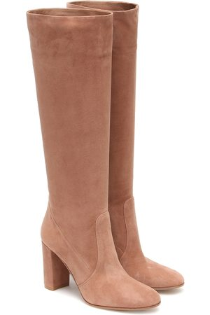 Gianvito Rossi 85 suede knee-high boots