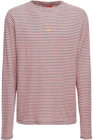 424 FAIRFAX Striped Knit Cotton T-shirt
