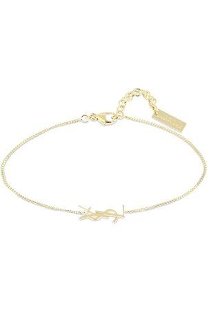 Saint Laurent Women Bracelets - Ysl Logo Fin Bracelet