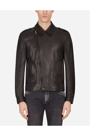 Dolce & Gabbana Jackets and Bombers - LEATHER JACKET