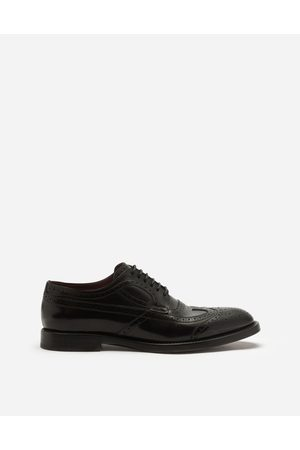 Dolce & Gabbana Lace-Ups - BRUSHED CALFSKIN DERBY BROGUES