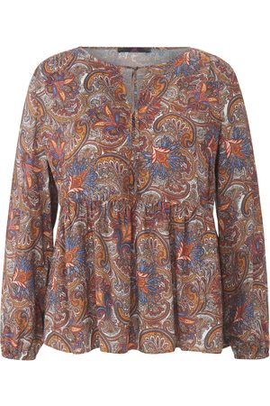 Emilia Lay Tunic ornamental print multicoloured size: 14