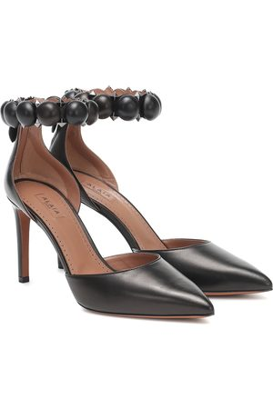 Alaïa Bombe leather pumps