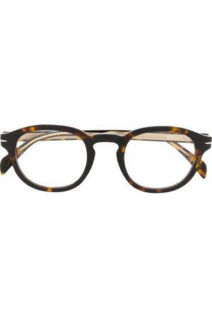 Eyewear by David Beckham Men Sunglasses - DB 7017 round frame glasses