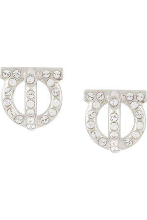Salvatore Ferragamo Women Earrings - Gancini style stud earrings