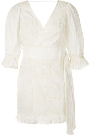 CLUBE BOSSA Baron embroidered dress