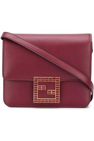 Fendi Fab leather shoulder bag