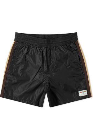 Gucci Taped Detail Swim Short