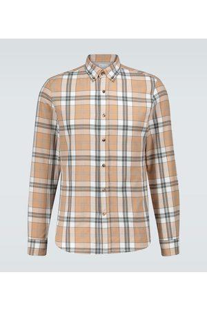 Brunello Cucinelli Flannel checked shirt