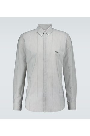 Fendi Micro striped shirt