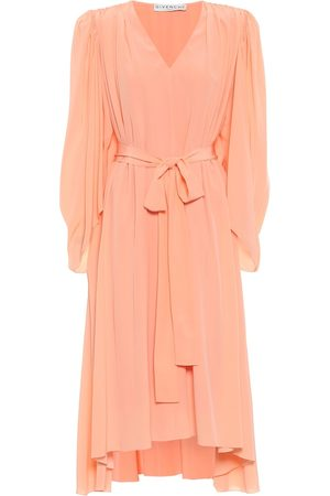 Givenchy Crêpe de chine silk midi dress