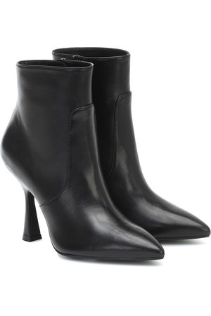 Stuart Weitzman Melena leather ankle boots