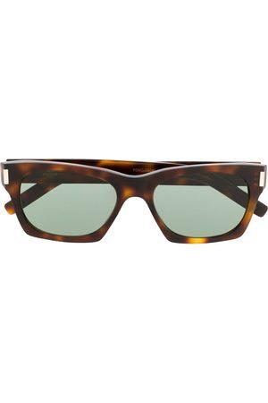 Saint Laurent Eyewear Sunglasses - SL 402 rectangular-frame sunglasses
