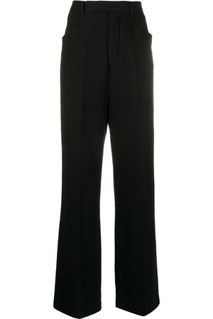 Rick Owens Flared leg tailored trousers