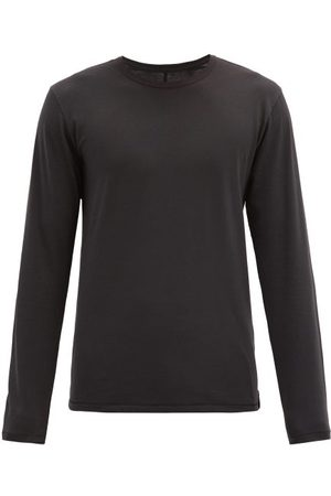 RAG&BONE Base Long-sleeved Organic-cotton Jersey T-shirt - Mens