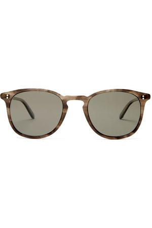 GARRETT LEIGHT Kinney Square Acetate Sunglasses - Mens