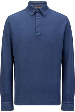 Loro Piana Men Polo Shirts - Cotton Polo Shirt