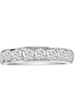 SuperJeweler Classic 1/2 Carat Wedding Band in Solid Platinum (I-J Color, I1-I2 Clarity), Size 4