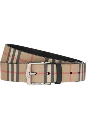 Burberry 35mm Coated Check Belt