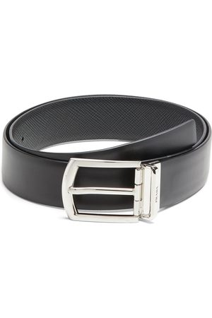 Prada Reversible buckle-fastening belt
