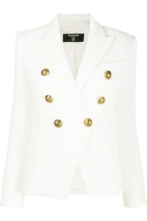 Balmain Double breasted cropped jacket