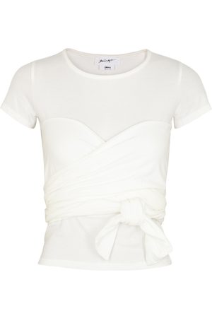 The Line By K Jeanna Stretch-cotton T-shirt