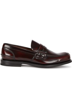 Church's Men Loafers - Tunbridge Chestnut Leather Penny Loafers