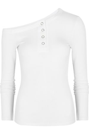 The Line By K Harley Off-the-shoulder Stretch-jersey Top