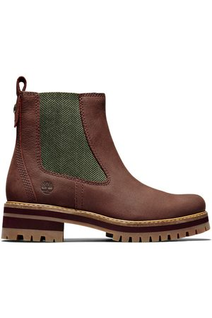 Timberland Courmayeur chelsea boot for women in burgundy burgundy, size 8